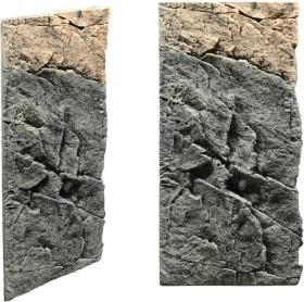 Back to Nature Slimline Rückwand 50C Basalt-Gneiss, 20x45cm (03000097)