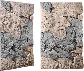 Back to Nature Slimline Rückwand 80A Basalt-Gneiss, 48x80cm (03000156)