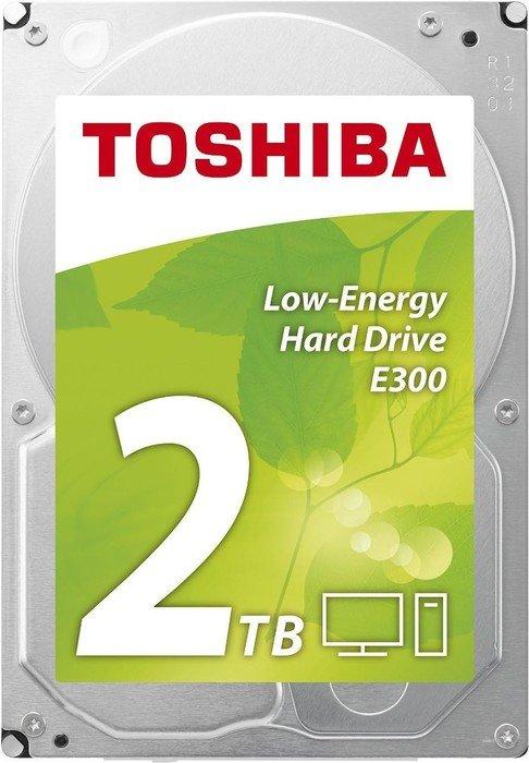 Toshiba E300 Low-Energy 2TB, SATA 6Gb/s, bulk (HDWA120UZSVA)
