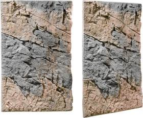Back to Nature Slimline Rückwand 80B Basalt Gneiss, 48x80cm (03000157)