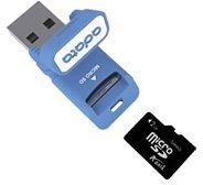 ADATA Turbo microSDHC 8GB USB-Kit, Class 4 (AUSDH8GCL4-RM2)