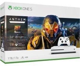 Microsoft Xbox One S - 1TB Anthem Bundle weiß (234-00946)