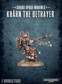 Games Workshop Warhammer 40.000 - Chaos Space Marines - World Eaters Khârn the Betrayer (99120102060)
