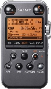 Sony PCM-M10 Digital Recorder