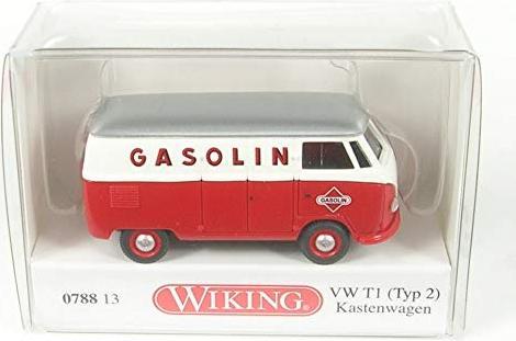 """Wiking VW T1 1:87 #078813 Kastenwagen /""""Gasolin/"""" Typ 2"""