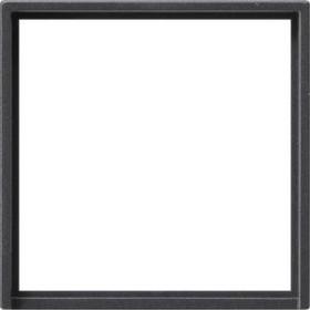 Gira Adapterrahmen mit quadratischem Ausschnitt 50x50mm, anthrazit (0282 28)