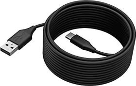 Jabra PanaCast USB cable, USB-A 2.0 [plug] to USB-C 2.0 [plug], 5.0m (14202-11)
