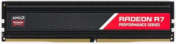AMD Radeon Performance Series DIMM 8GB, DDR4-2400, CL15-15-15-36 (R748G2400U2S)