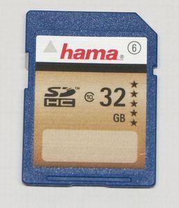 Hama HighSpeed SDHC 32GB, Class 6 (90794) -- © bepixelung.org