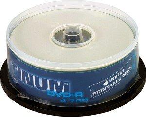BestMedia Platinum DVD+R 4.7GB 16x printable, 25er Spindel (100121)