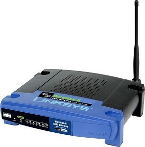 Linksys WAG54G Router/ADSL Modem