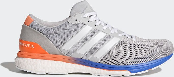 low priced da83a 02729 adidas adizero Boston 6 grey twoftwr whitehi-res blue (Herren