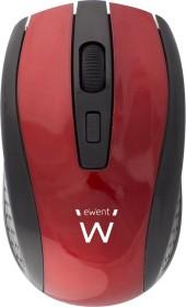 Ewent Wireless Optical Mouse 1600dpi rot, USB (EW3237)