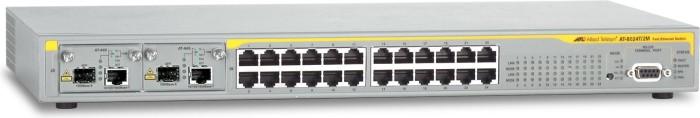 Allied Telesis 8600 Rackmount Managed Switch, 24x RJ-45, 2x Erweiterungsslots (AT-8624T/2M)