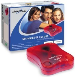 devolo MicroLink 56k Fun USB, UK