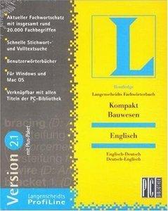 Langenscheidt Fachwörterbuch Kompakt Bauwesen Englisch (PC) (LA17172)