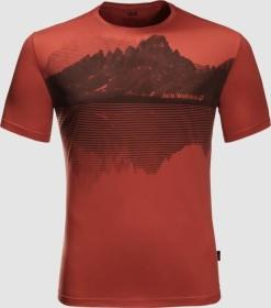 Jack Wolfskin Peak Graphic Shirt kurzarm mexican pepper (Herren) (1807181-3740)