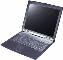 "Elitegroup ECS Desknote A535, Barebone, Duron, 14.1"" TFT (various types)"