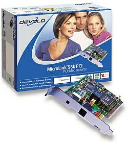 devolo MicroLink 56k PCI wewn., UK