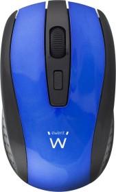 Ewent Wireless Optical Mouse 1600dpi blau, USB (EW3238)