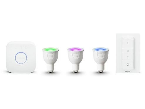 Philips Hue White and Color Ambiance GU10 6.5W Starter Kit (8718696748930)