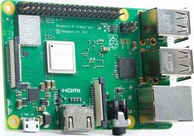 Raspberry Pi 3 model B+, starter kit, case transparent, 16GB microSD