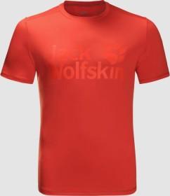 Jack Wolfskin Sierra Shirt kurzarm lava red (Herren) (1806511-2066)
