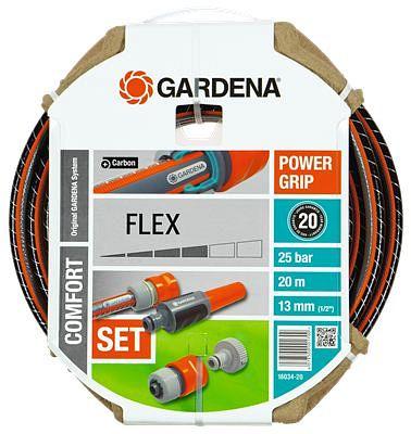 Gardena Comfort FLEX hose kit 13mm, 20m (18034)
