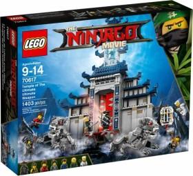 LEGO The Ninjago Movie - Ultimativ ultimatives Tempel-Versteck (70617)