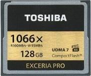 Toshiba Exceria Pro C501 R160/W150 CompactFlash Card [CF] 1066x 128GB (THN-C501G1280E6)