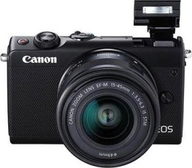 Canon EOS M100 black with lens EF-M 15-45mm 3.5-6.3 IS STM (2209C049)