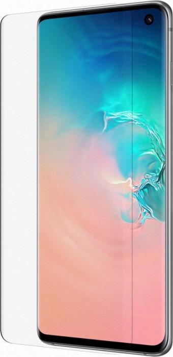 Belkin ScreenForce InvisiGlass Curve Screen Protector für Samsung Galaxy S10 (F7M069zzBLK)