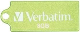 Verbatim Store 'n' Go Micro grün 8GB, USB-A 2.0 (47423)