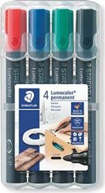 Staedtler Lumocolor Permanentmarker 352 sortiert, 4er-Set (352 WP4)