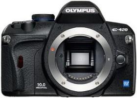 Olympus E-420 schwarz Gehäuse (N3125592)