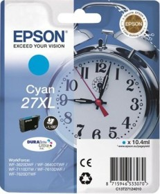 Epson Tinte 27XL cyan (C13T27124010)