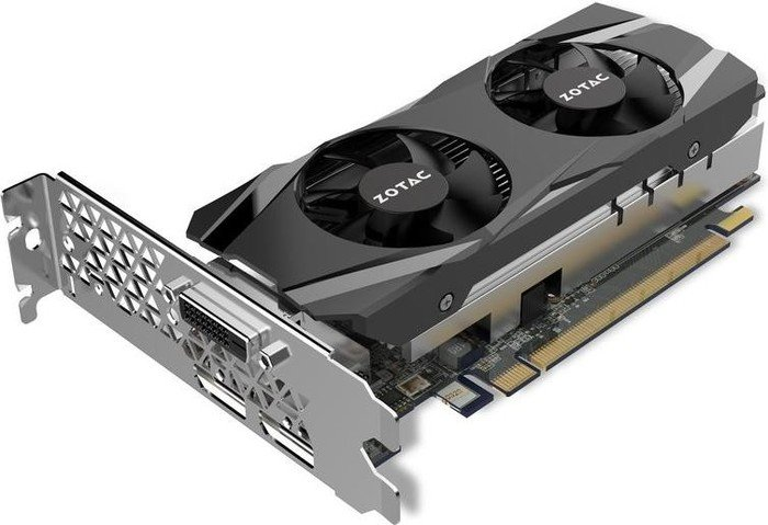 Zotac GeForce GTX 1050 Ti Low Profile, 4GB GDDR5, DVI, HDMI, DP (ZT-P10510E-10L)