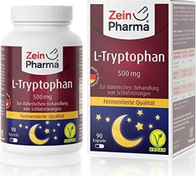 L-tryptophan 500mg capsules, 90 pieces