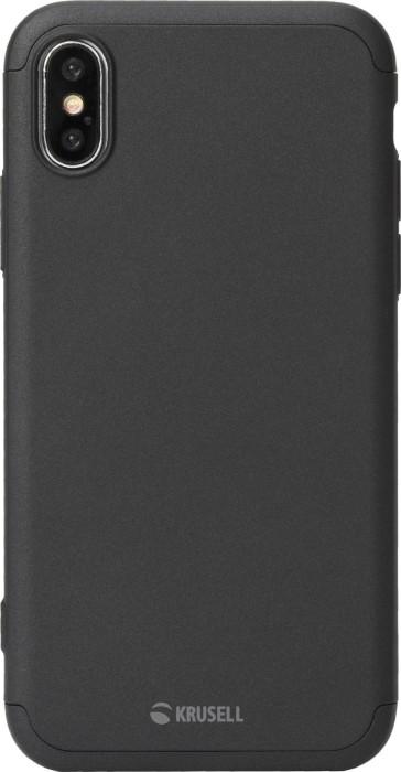 Krusell Arvika 3.0 Cover für Apple iPhone X/XS schwarz (61453)