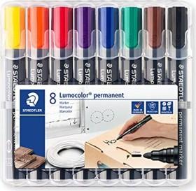 Staedtler Lumocolor Permanentmarker 352 sortiert, 8er-Set (352 WP8)