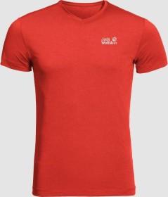 Jack Wolfskin JWP Shirt kurzarm lava red (Herren) (1806641-2066)