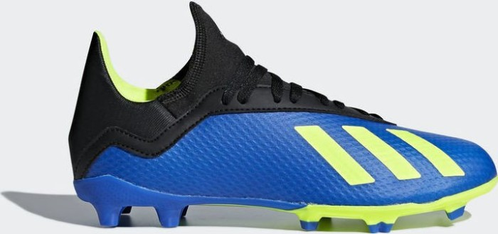 huge discount 598d3 5022c adidas X 18.3 FG football bluesolar yellowcore black (Junior) (