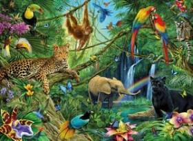 Ravensburger Puzzle Tiere im Dschungel (12660)