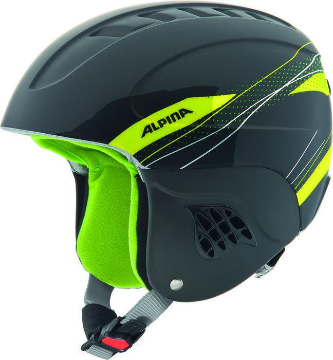 Alpina Carat Helmet black/green (Junior) (A9035.X.34)