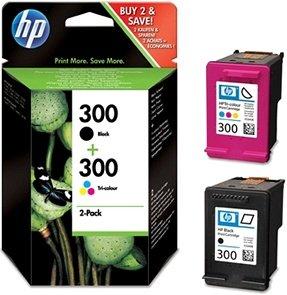 HP 121/300 Druckkopf mit Tinte schwarz/farbig (CN637EE/CN637HE)