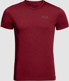 Jack Wolfskin JWP Shirt kurzarm dark lacquer red (Herren) (1806641-2027)
