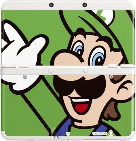 Nintendo decorative panel 002 for New 3DS - Luigi (DS)