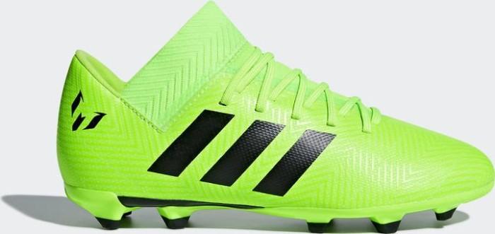 371b8fcaf adidas Nemeziz Messi 18.3 FG solar green/core black (Junior) (DB2367 ...