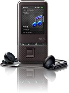 Creative ZEN Style 300 8GB black (70PF250209115)