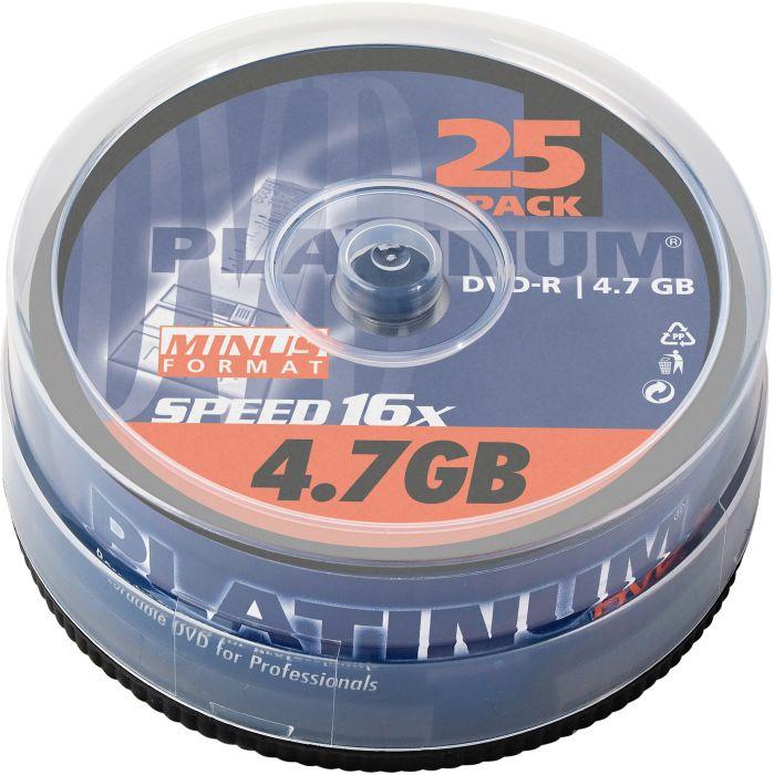 BestMedia Platinum DVD-R 4.7GB 16x, 25er Spindel (100302)